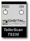 Digital Check TellerScan TS230 Label