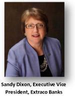 Extraco Bank EVP Sandy Dixon