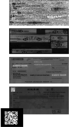 Digital Check UV Cheque Images