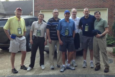 Digital Check International Team at Augusta