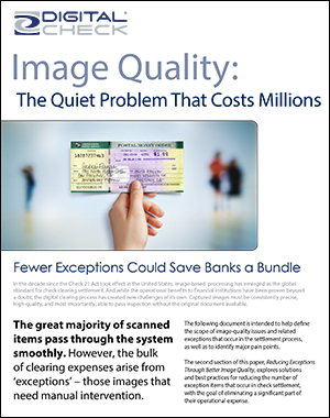 Image Quality and Exceptions
