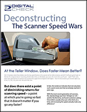 Deconstructing the Scanner Speed Wars