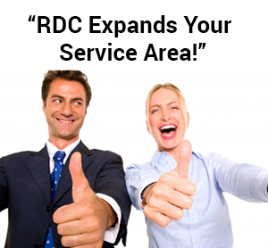 RDC expands your footprint - smiling businesspeople