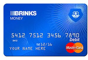 Brinks Money prepaid debit card