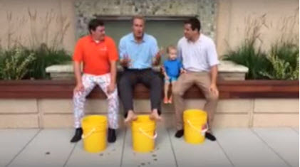 Digital Check President and His Family Take ALS Ice Bucket Challenge