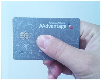 The EMV credit card used for this experiment