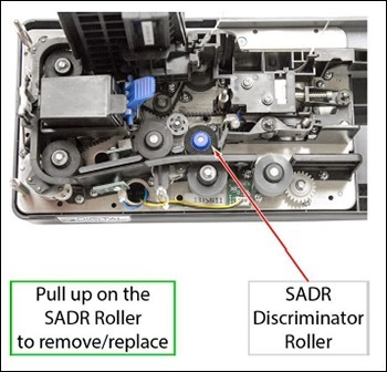 Support tips: Replacing the Discriminator Roller