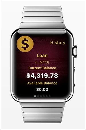 Apple Watch app from Malauzai