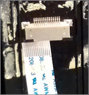 Detached camera cable example