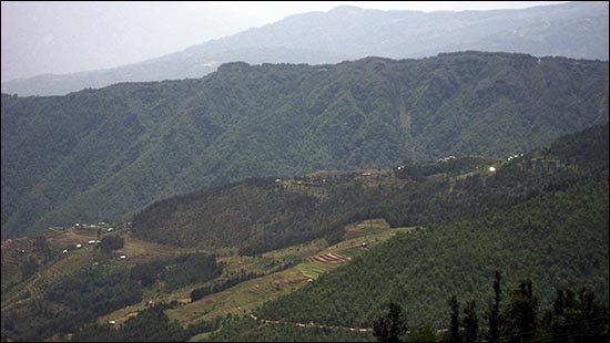 Remote mountain village