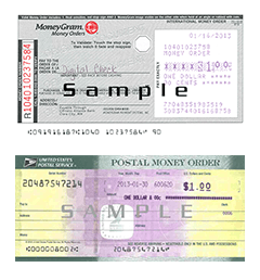 Money Orders Digital Check Digital Check