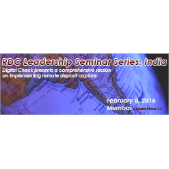 Digital Check Hosts RDC Leadership Seminar Series: India with Inaugural Event in Mumbai