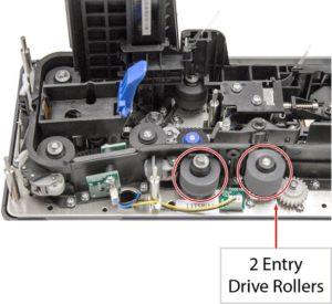 TellerScan TS240 Scanner Track