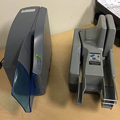 The Oldest Check Scanner? Customer's TellerScan TS215 Worked for a Decade