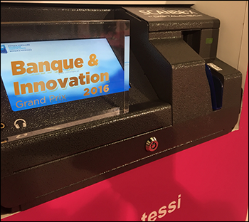 ScanBox by Digital Check<sup><small>TM</small></sup> Wins Innovation Award at Paris Banking Show