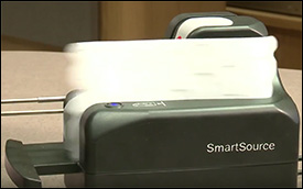 SmartSource scanner cleaning