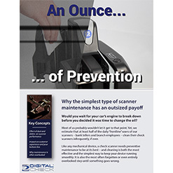 An Ounce of Prevention: Why Cleaning Your Scanner Matters