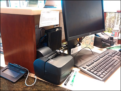 Teller workstation devices