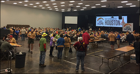 Eight Days of Hope breakfast Houston