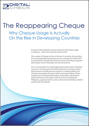 The Reappearing Cheque - cover