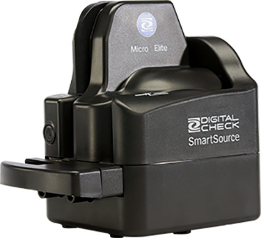 Digital Check's SmartSource Micro Elite Scanner Now Available with Endorsing Capability