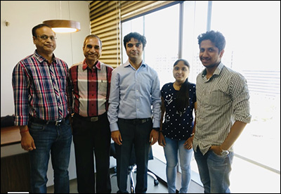 Albertsons India team with Ninad