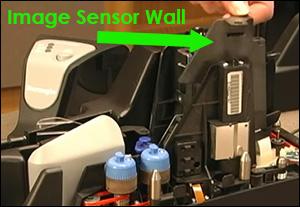 SmartSource Pro image sensor wall location