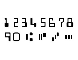 E13B MICR font