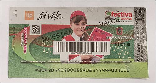 Cupones de nómina: el sistema de pago paralelo de México