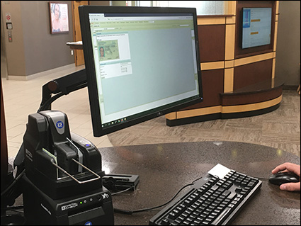 ID card scanning example - Linn Area CU