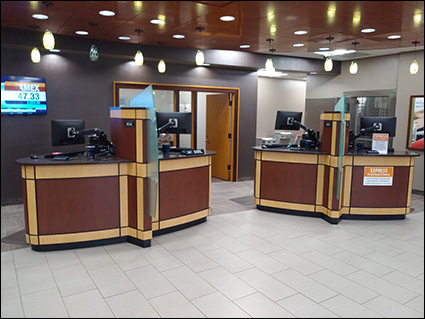 Teller pods - Linn Area Credit Union