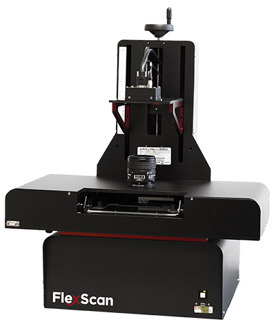 FlexScan microfilm and microfiche conversion reader