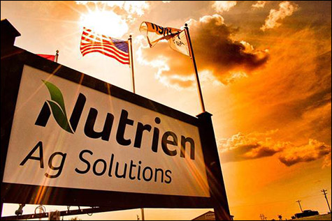 Nutrien Ag Solutions sign