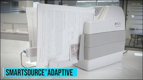 SmartSource Adaptive check scanner