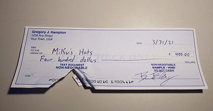 How to Scan Torn or Damaged Checks: Support Tips