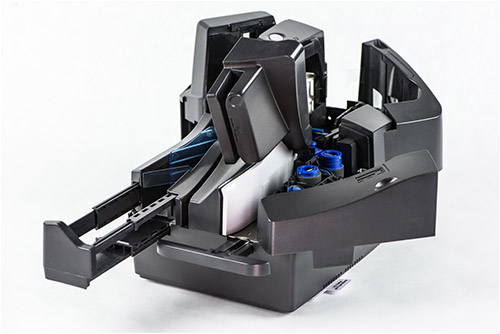 TS500 scanner with easy open covers