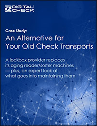 An Alternative for Your Old Check Transport Machine